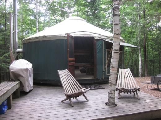 The yurt.